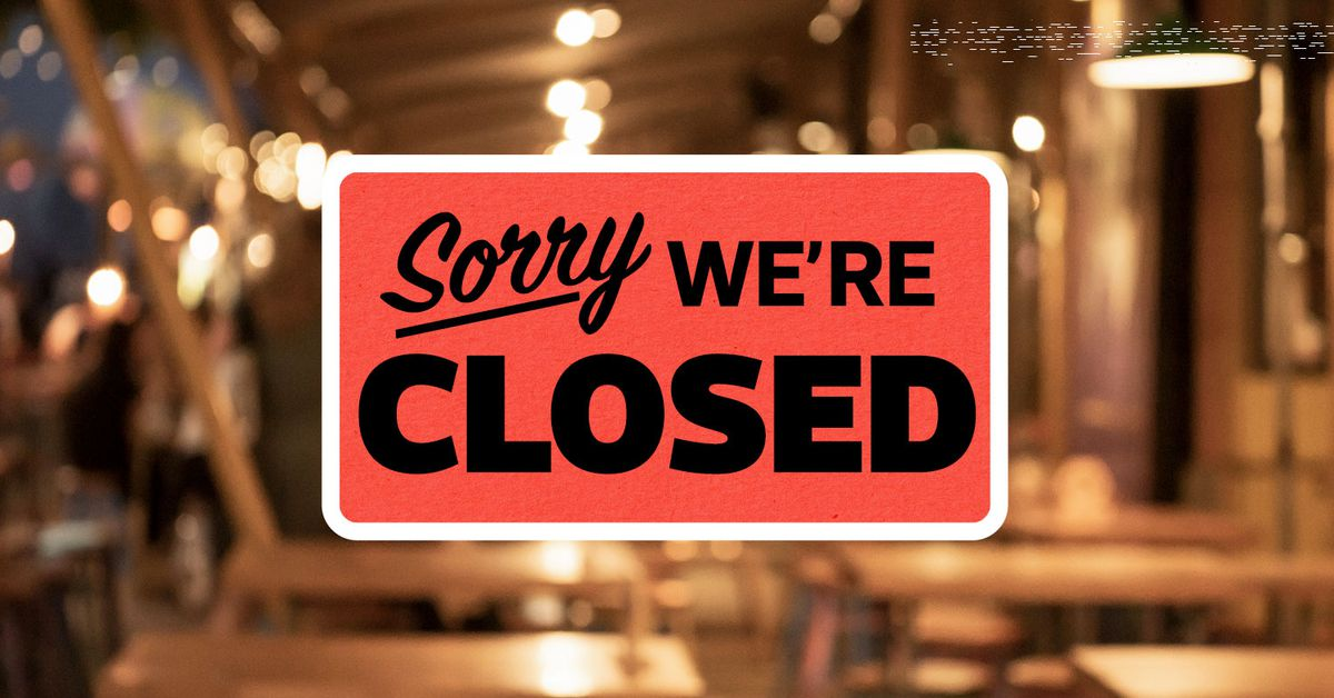 We are closed 3