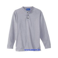Henley T-Shirts Long Sleeves