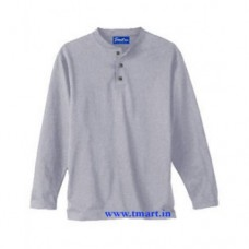 Plus  Size Henley T-Shirts Long Sleeves